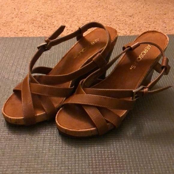 fresh styles hot sale online best supplier AEROSOLES Shoes | Cute Tan Wedges | Poshmark